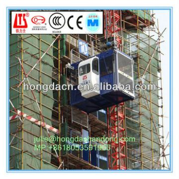 HONGDA Single Cage Elevator SC200 Loading Capacity 2t