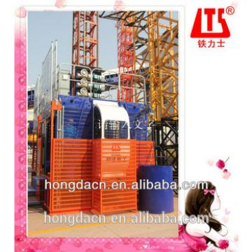 Shandong HONGDA Construction Elevator SCD200 / 200GP double cages
