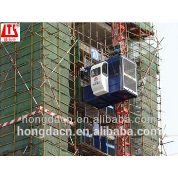 HONGDA TILISHI double cage SC100 100 construction elevator