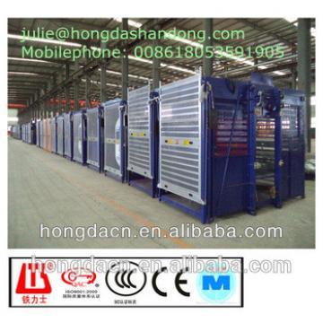 Construction Lift double cages 2t