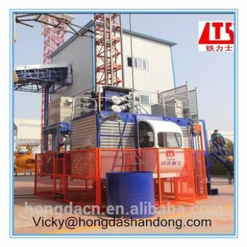 2 2000KG New Condition Construction Passenger Elevator SC200 200 Double Cage