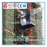 SHANDONG HONGDA Double Cages 2 Ton Capacity Construction Elevator SC200/200