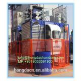 Shandong HONGDA TIELISHI Single cage SCD200 construction elevator loading capacity 2 ton