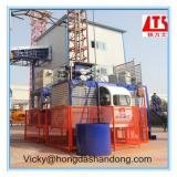 Laiyang HONGDA TIELISH Brand TwoTransfer Motors Variable frequency Construction Hoist