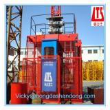 Frequency Conversion HONGDA Construction Elevator SC100 100