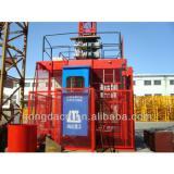 HONGDA Three Transfer Motors Frequency alterable Construction Elevator