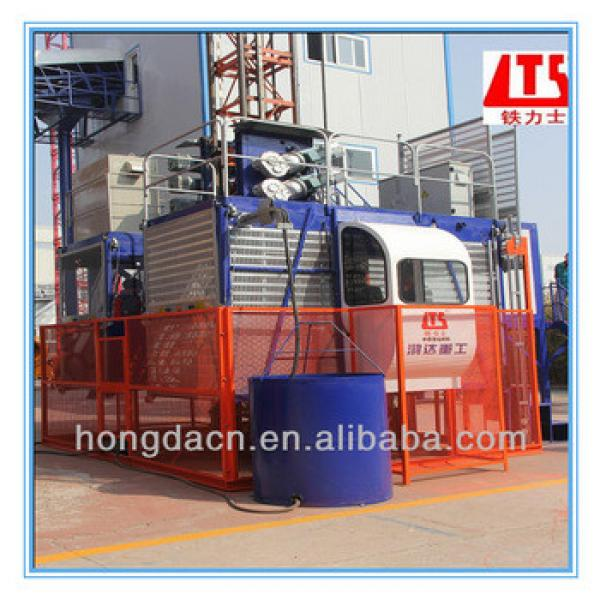 Shandong HONGDA SC200 200P Double Cage Construction Elevator Lift Made in China #1 image