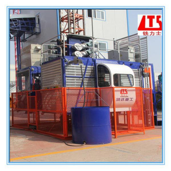 Frequency Conversion Double Cage HONGDA SC100 100 Construction Elevator, #1 image