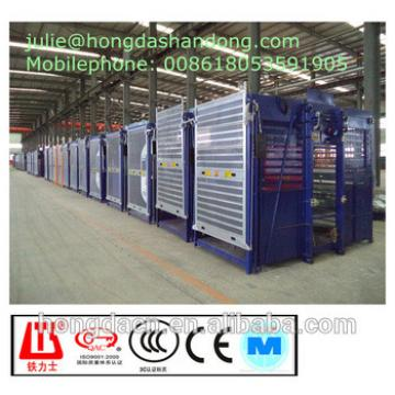 HONGDA Double Cages SC200 200GP Construction Elevator CE ISO CCC