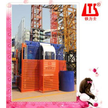 SHANDONG HONGDA TIELISHI Double Cage Construction Elevator Lift SC200 200P
