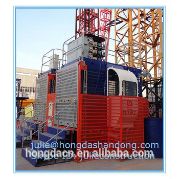 Shandong HONGDA TIELISHI Single cage SCD200 construction elevator #1 image