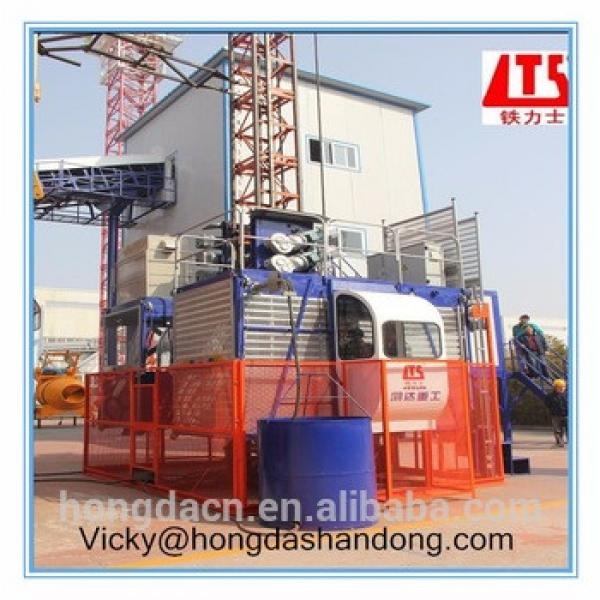 2 2000KG New Condition Construction Passenger Elevator SC200 200 Double Cage #1 image